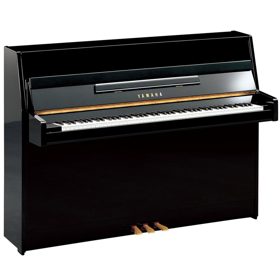 Yamaha JU109PE Polished Ebony - Piano City