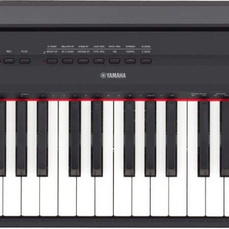 The Yamaha P115 Digital Piano - Top View