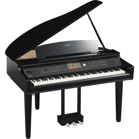 The CVP-709 Grand Piano - Angle View