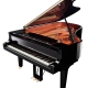 The Yamaha C6X Concert Grand - Above View