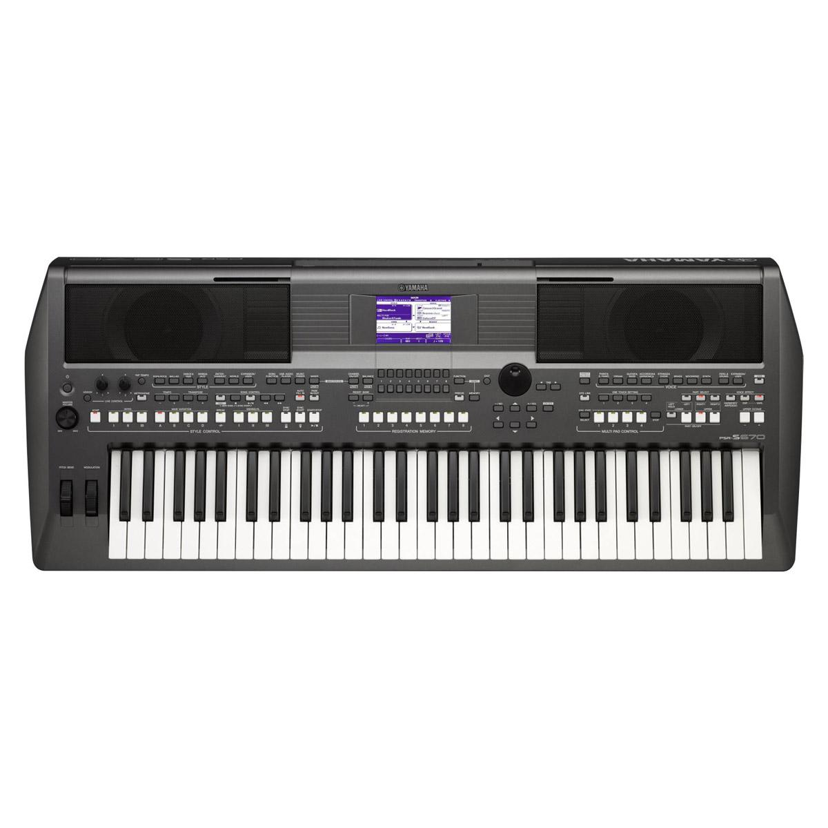 Digital Baby Grand Piano >> Yamaha PSR-S670 - Piano City