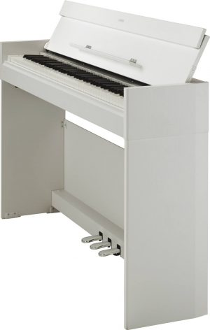The Yamaha YDP-S52 (White) Side View