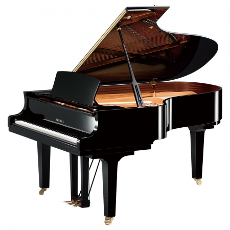 The Yamaha C5X Concert Grand - Angle View