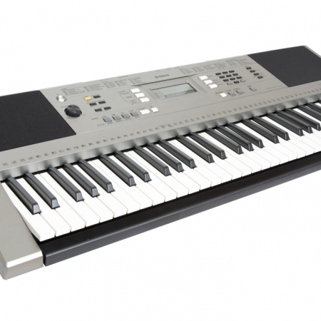 The Yamaha PSR-E353 - Left Angle View