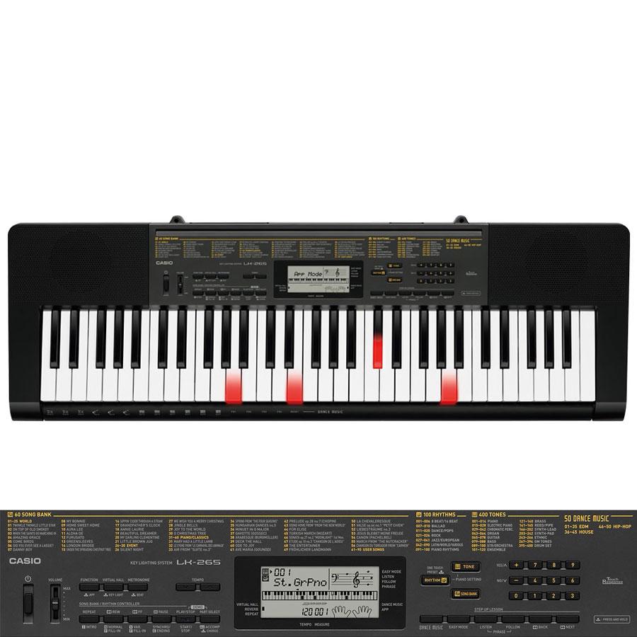 Casio Lk265 Key Lighting Keyboard Piano City